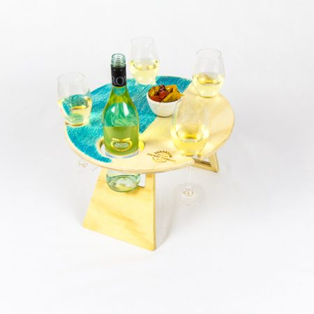 foldable wine table
