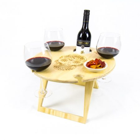 portable wine table