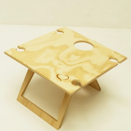 square folding wine table