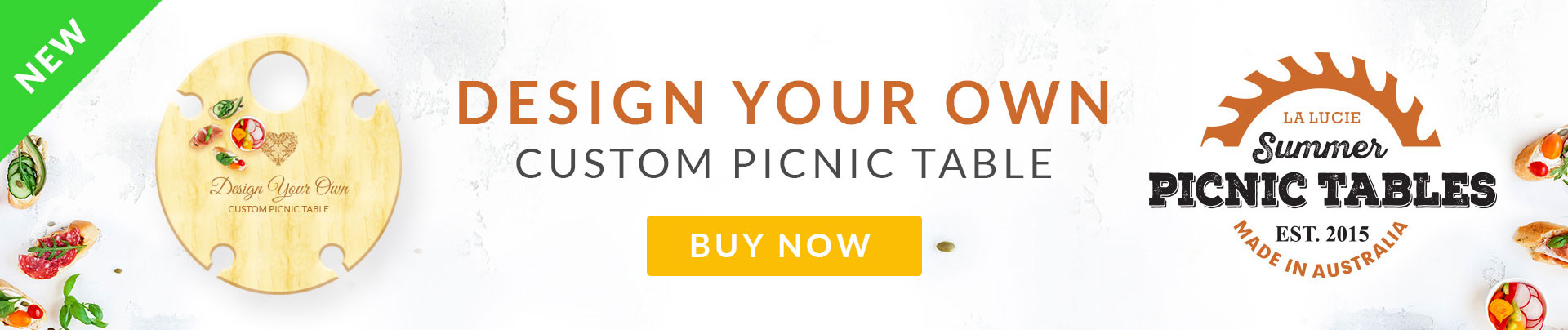 Design Your Own Picnic Table