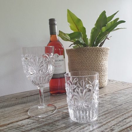 Acrylic Wine Glasses