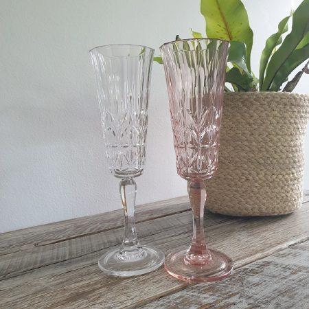 Acrylic Champagne Flutes